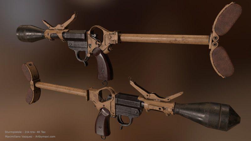Боевые и штурмовые пистолеты «Sturmpistole» и «Kampfpistole» (Германия до 1945 г.)