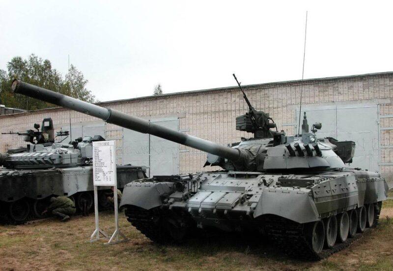 Основной танк Т-80УД «Берёза»