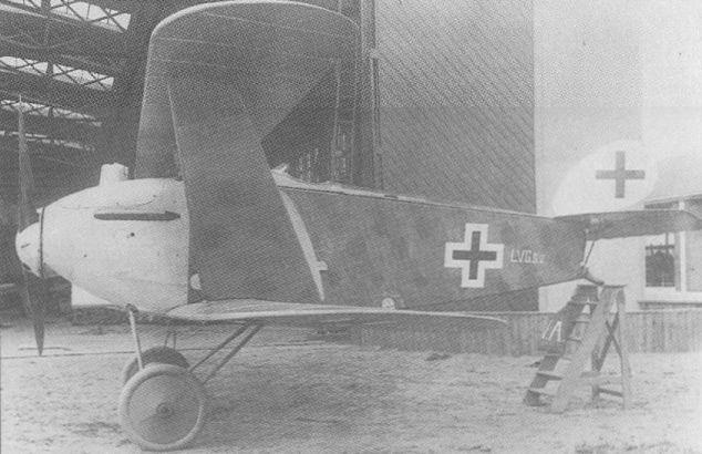 Германский истребитель LVG D.VI