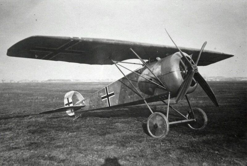 Германский истребитель L.F.G. Roland D.XVI