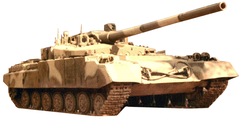 Основной танк «Объект 490А»