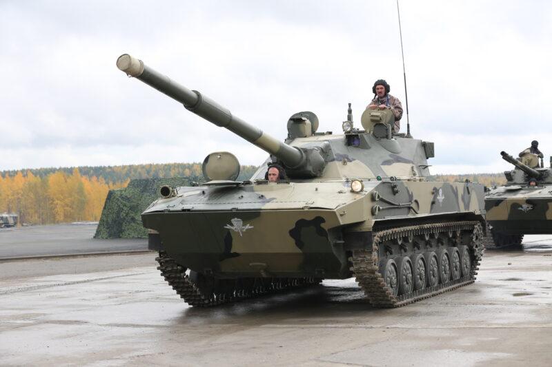 Авиадесантный танк «Спрут-СД» («Объект 252»)
