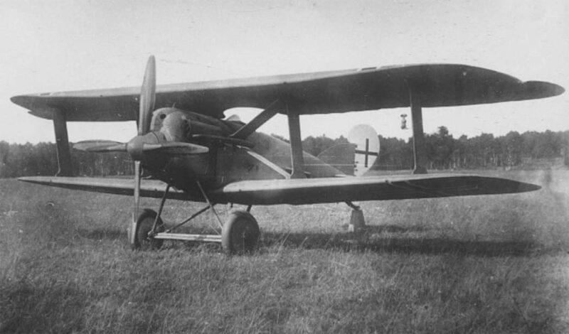 Германский истребитель-штурмовик A.E.G. DJI
