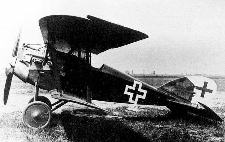 Германский истребитель Aviatik D.VI