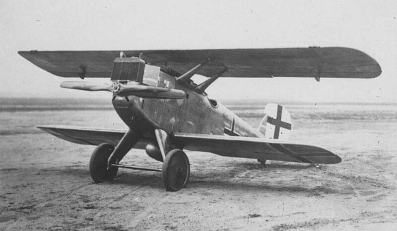 Германский истребитель Zeppelin-Lindau D.I