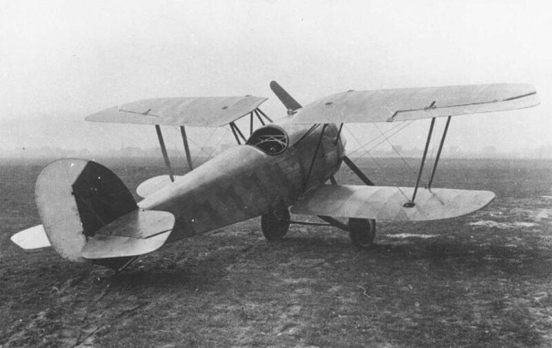 Германский истребитель Kondor D.6