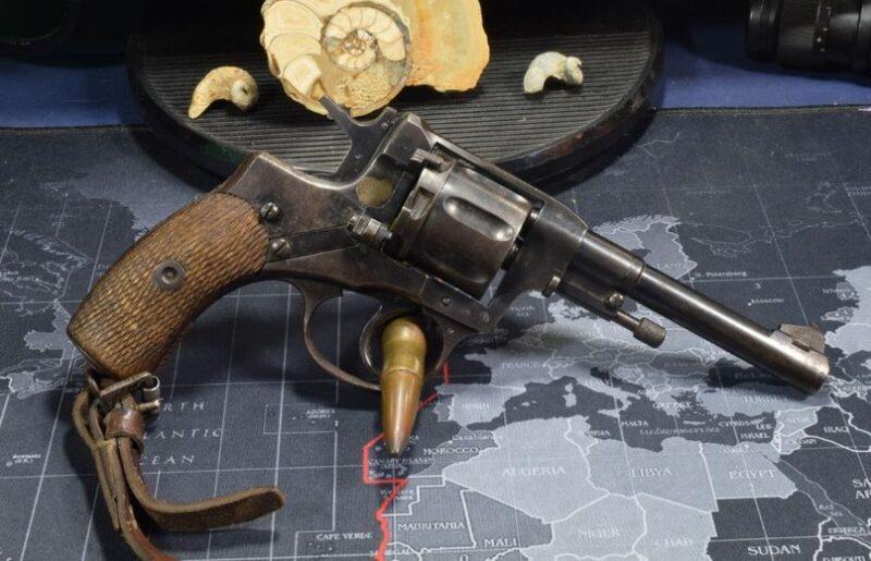 Револьвер Нагана обр. 1895 г. (Россия-СССР)