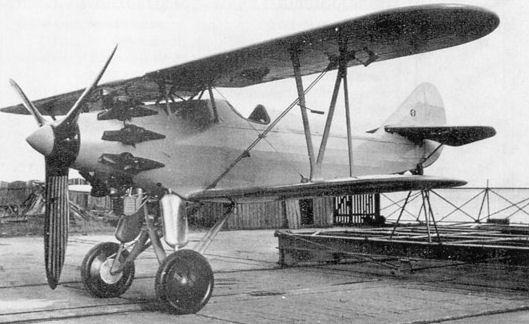 Германский истребитель Arado SD.II