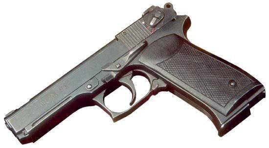 Конструкция пистолета ОЦ-23 «Дротик»