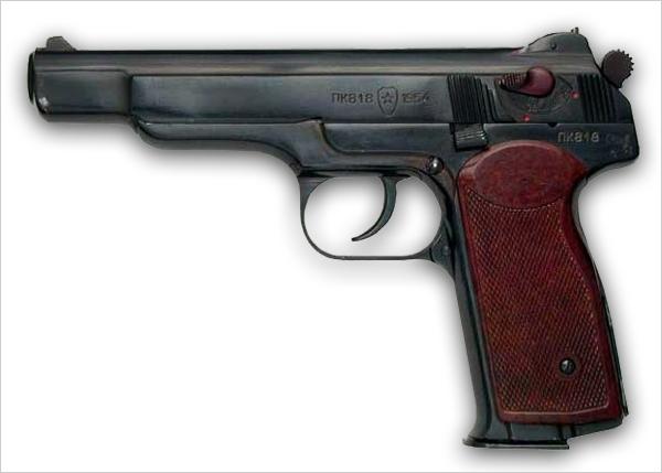Экспериментальный автоматический пистолет Калашникова (СССР)