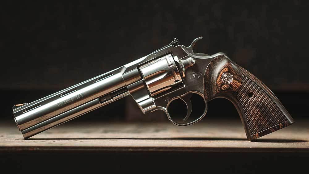 Конструкция револьвера «Colt Python»