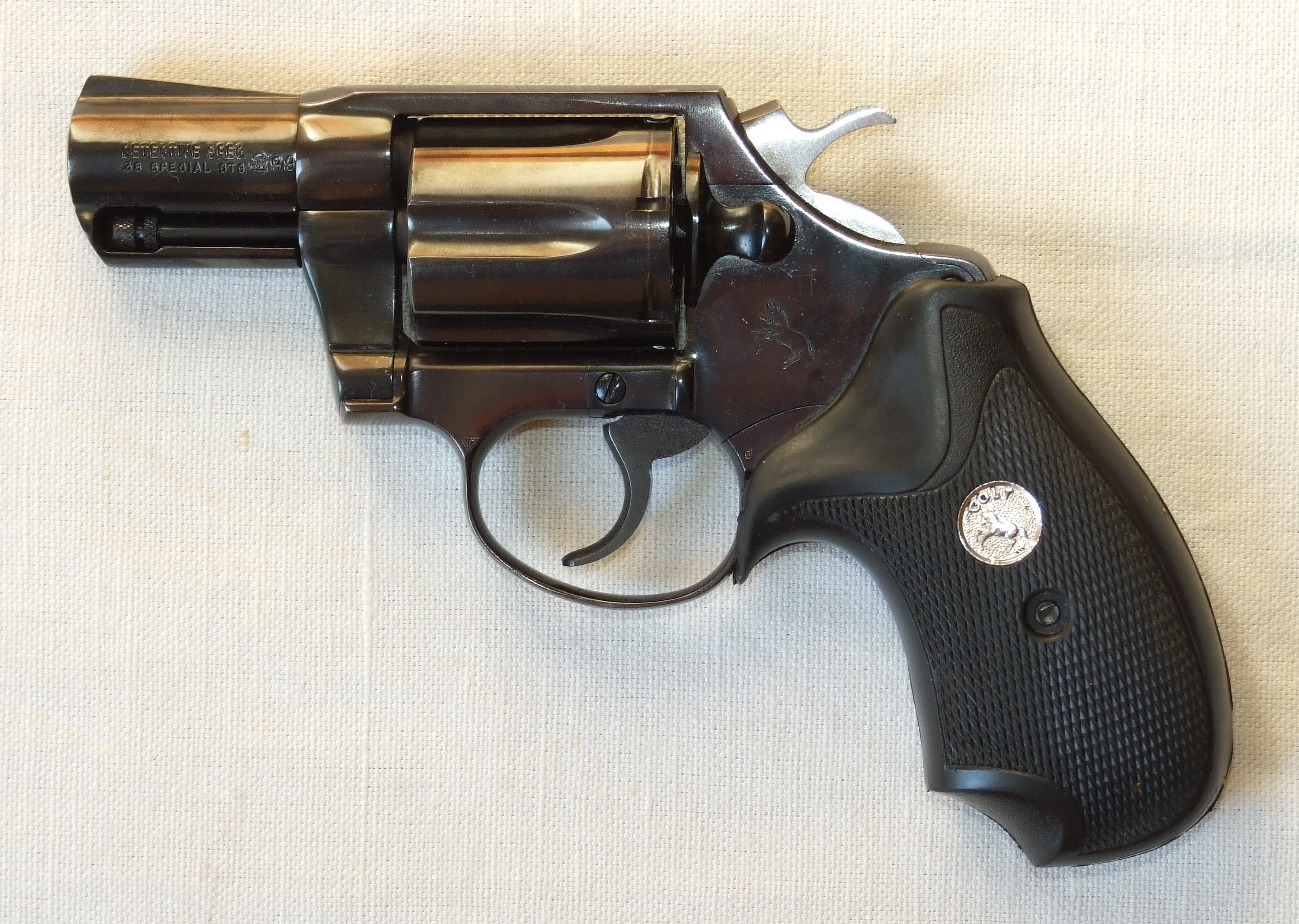 Конструкция револьвера «Colt Detective Special»