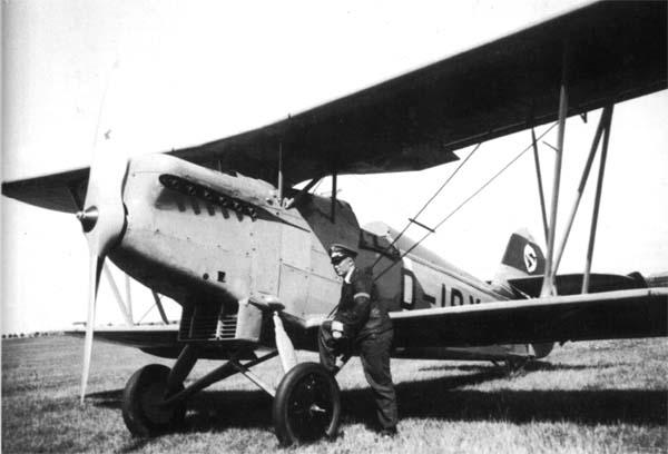Германский истребитель Arado Ar 65