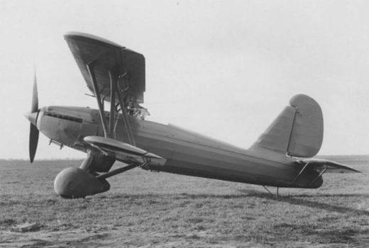 Германский истребитель Arado Ar 67