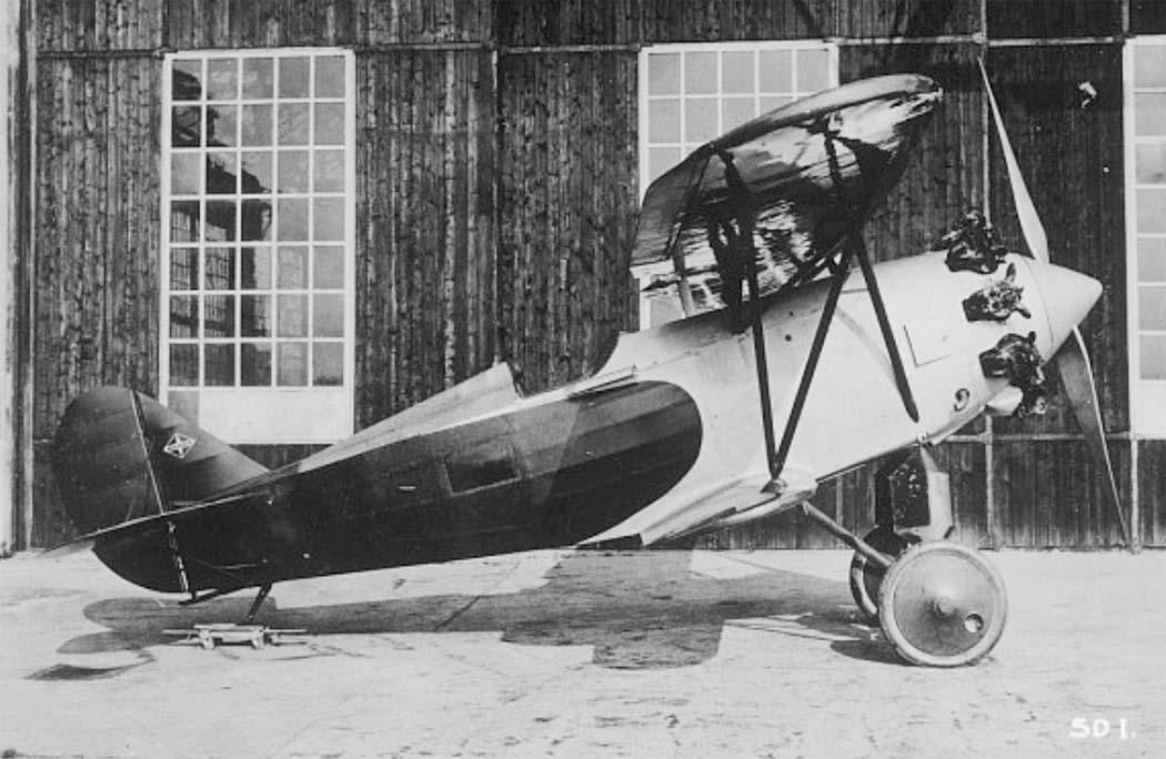 Германский истребитель Arado SD.I