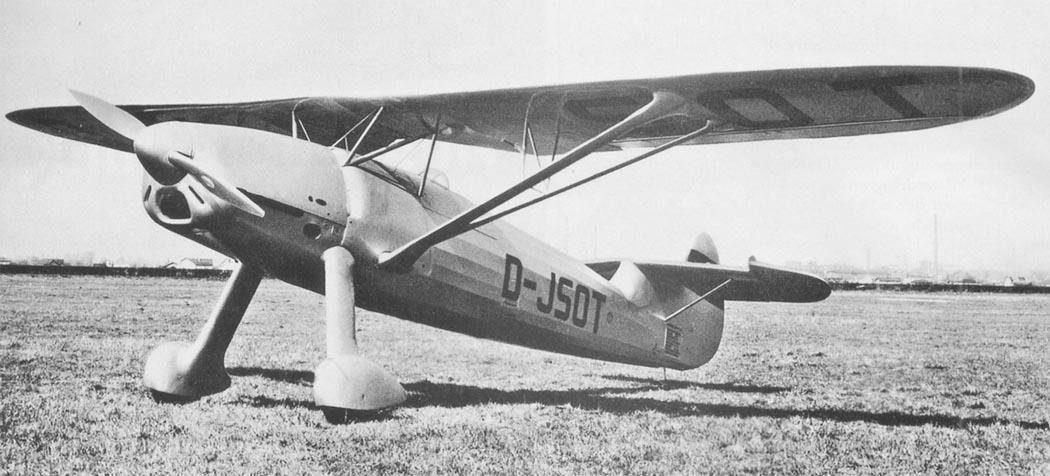 """Германский истребитель Focke-Wulf Fw 56 """"Stosser"""""""