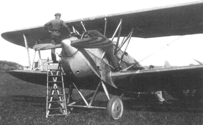 Германский истребитель Heinkel HD 23