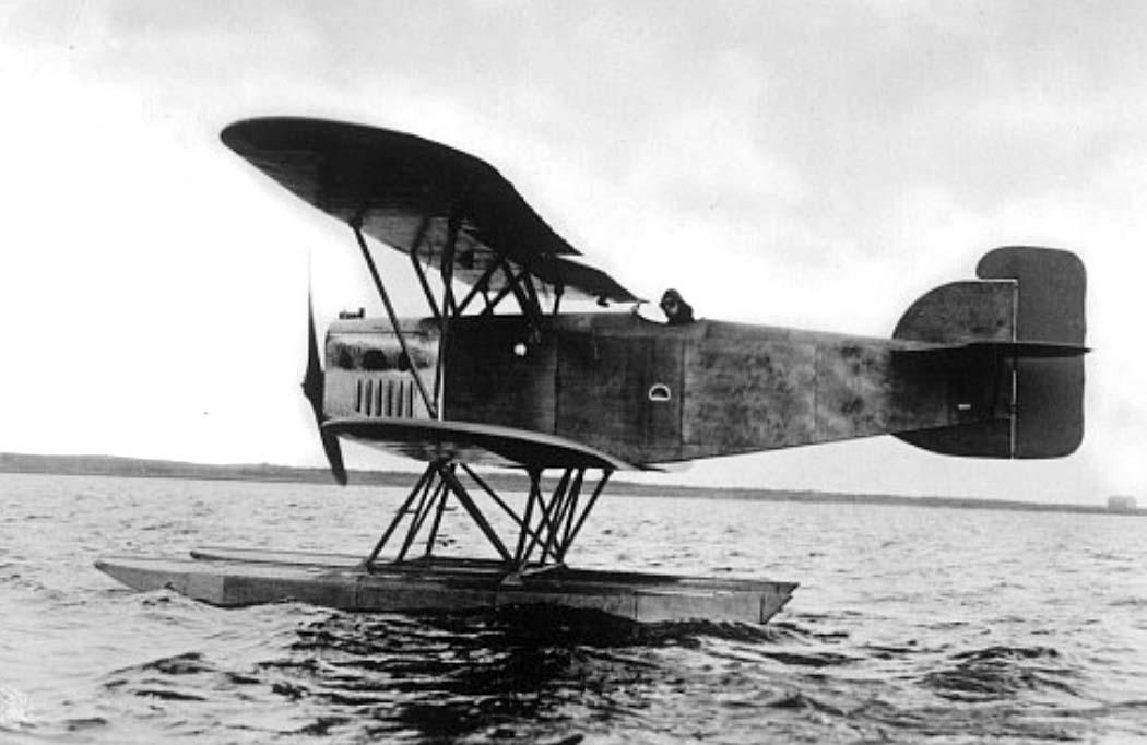 Германский истребитель Heinkel HD 26