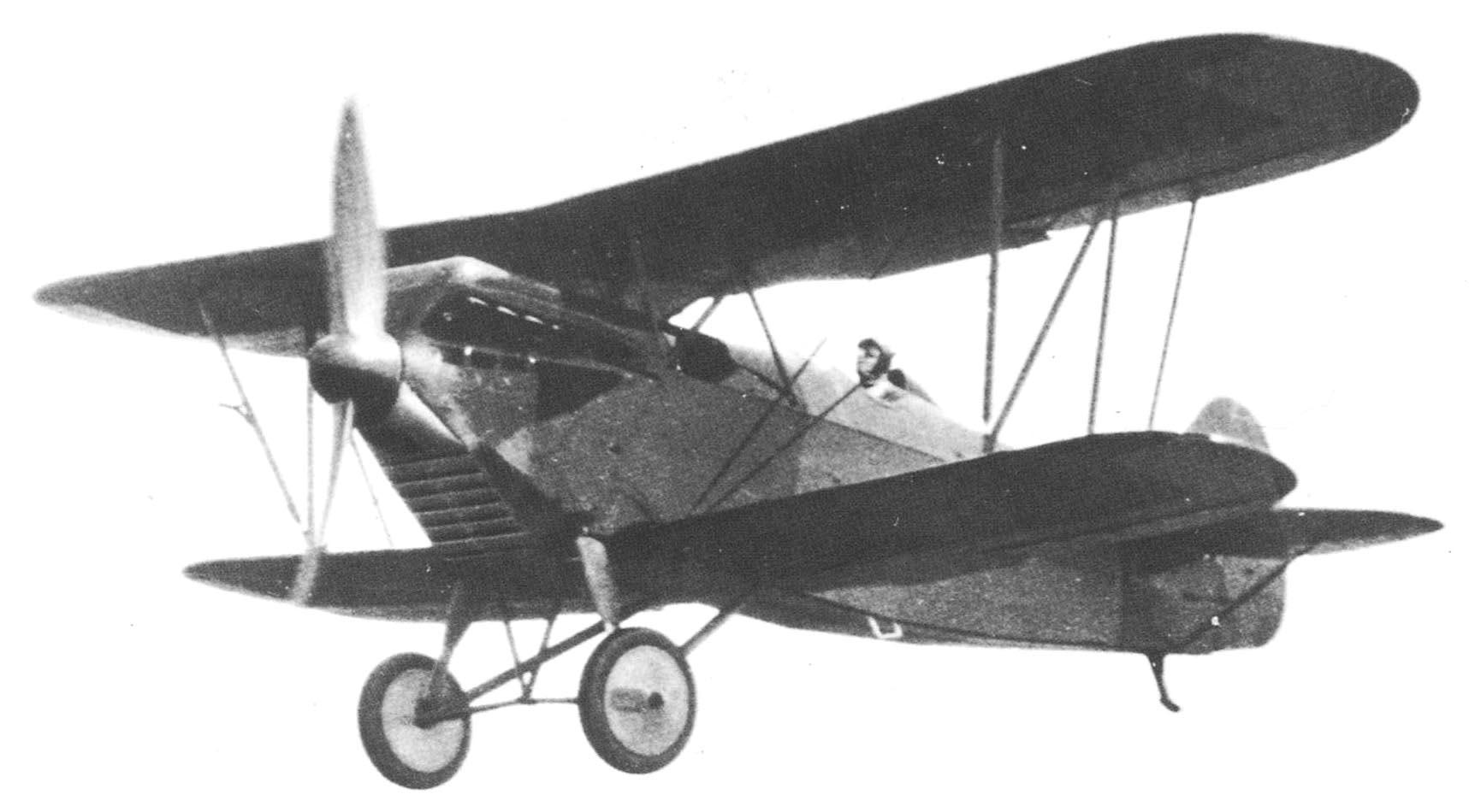 Германский истребитель Heinkel HD 43