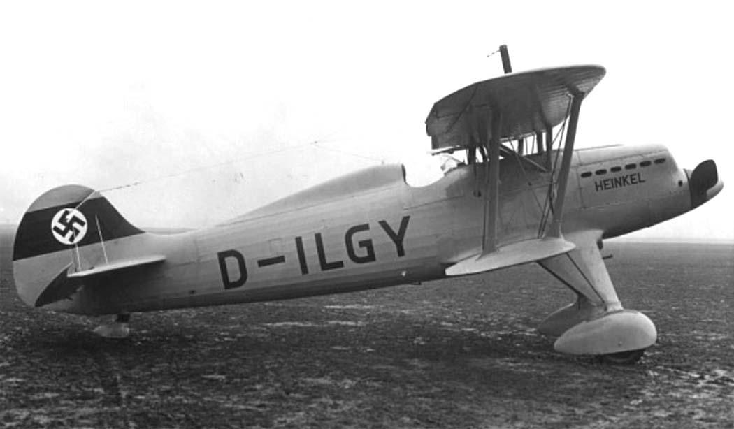 Германский истребитель Heinkel Не 51