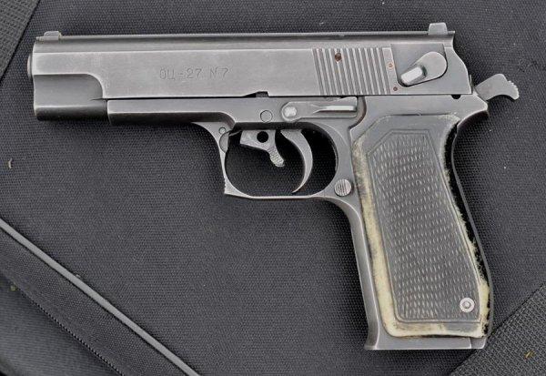 Конструкция пистолета ОЦ-27 «Бердыш»