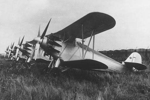 Германский истребитель Arado Ar 64