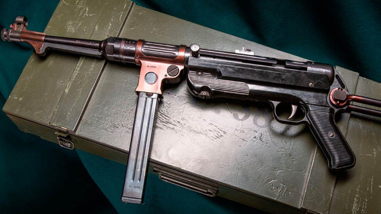 Пистолеты-пулеметы MP 38 и MP 40