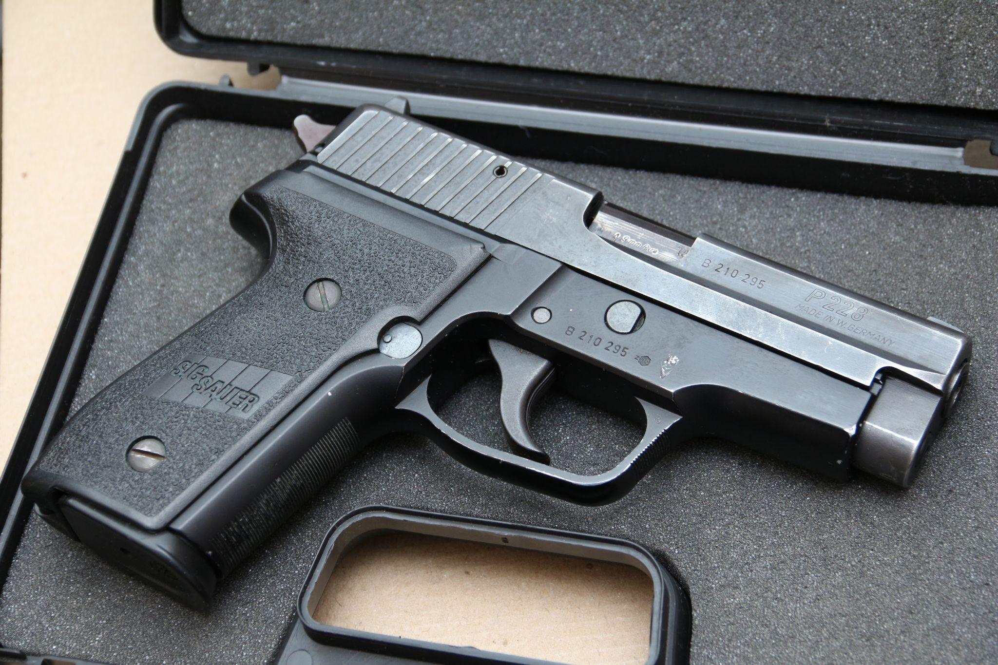 Пистолеты SIG и «SIG-Sauer» (Швейцария-ФРГ)