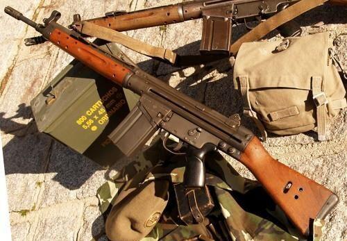 Автоматические винтовки CETME (Испания)