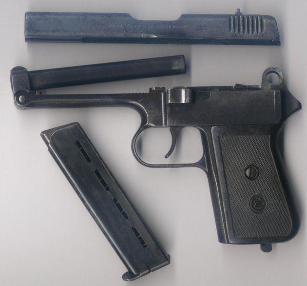 Конструкция пистолета CZ 38