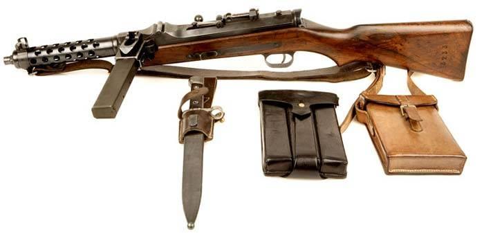 Пистолет-пулемет «Steyr-Solothurn» S1-100/MP 34
