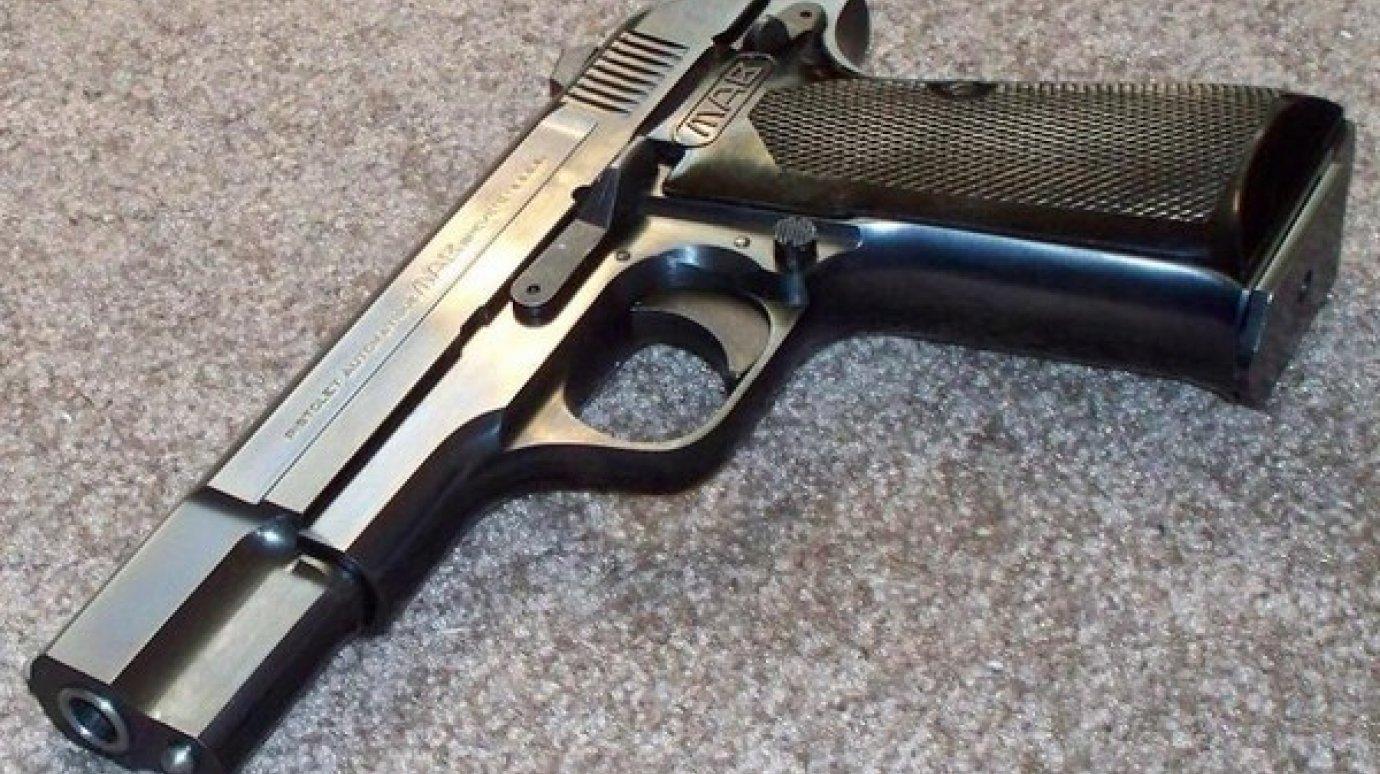 Конструкция пистолета МАВ D