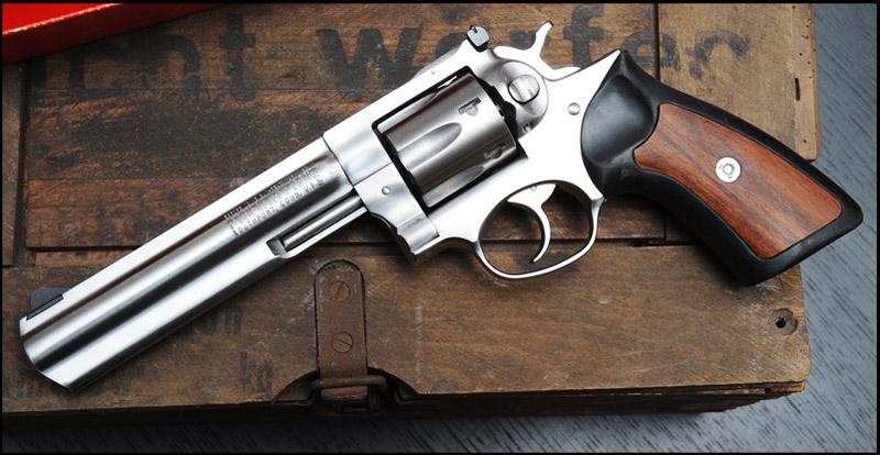 Конструкция револьвера «Ruger» GP 100
