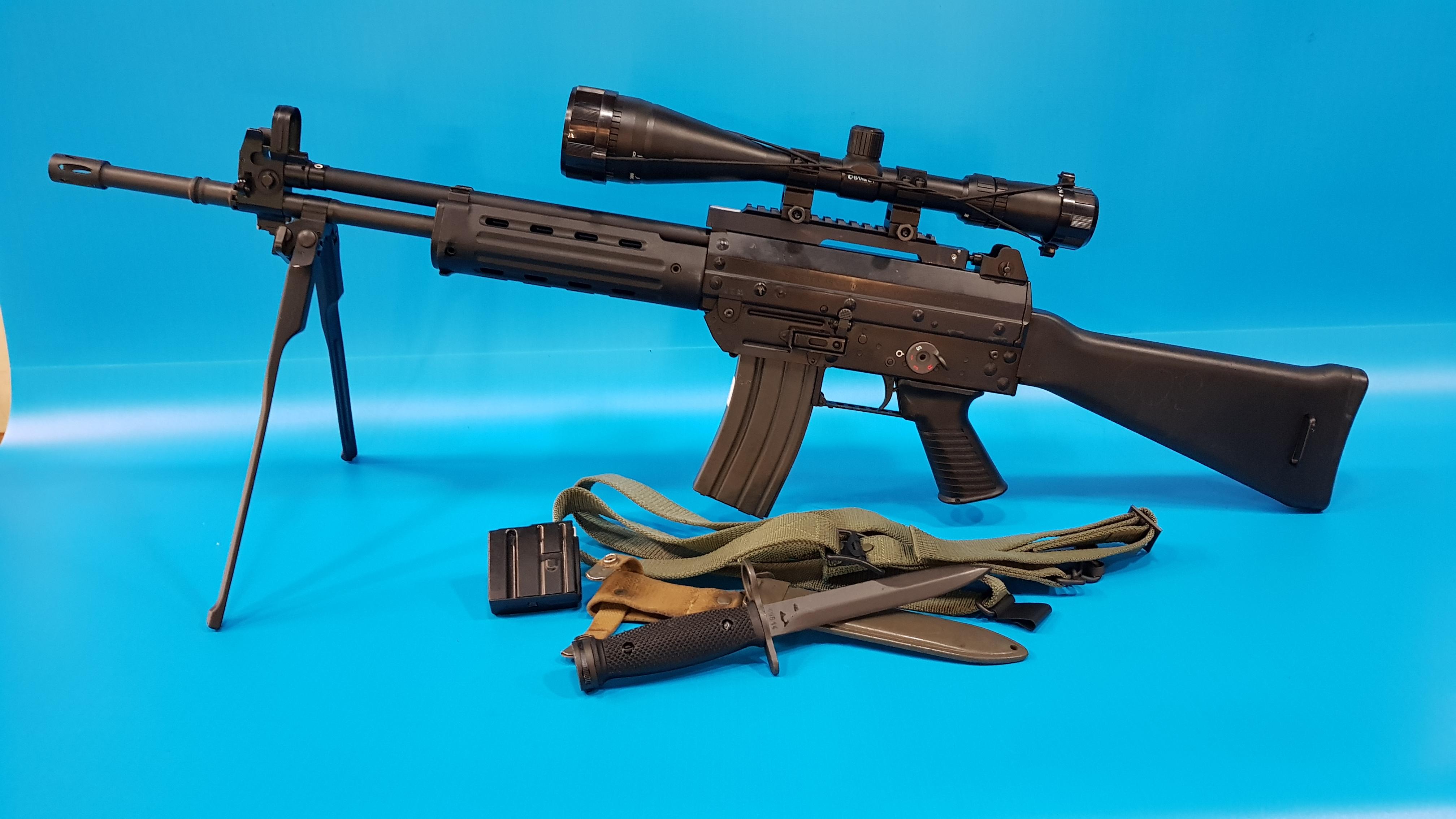 Конструкция винтовок «Beretta» AR-70 и AR-70/90