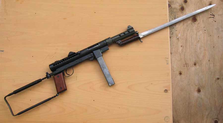 Пистолет-пулемет «Carl Gustav» m/45