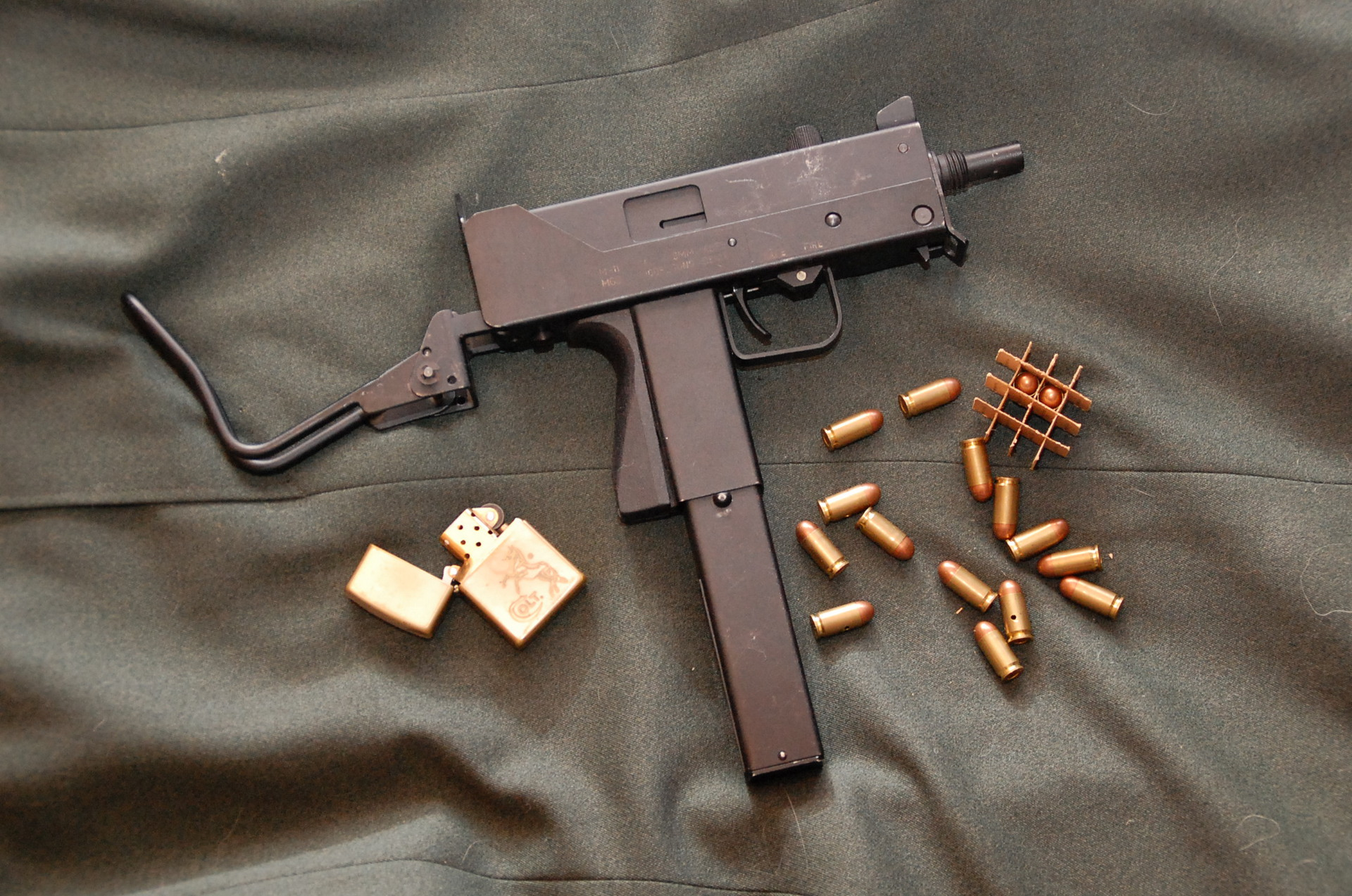 Пистолеты-пулеметы «Ingram» М10 и М11