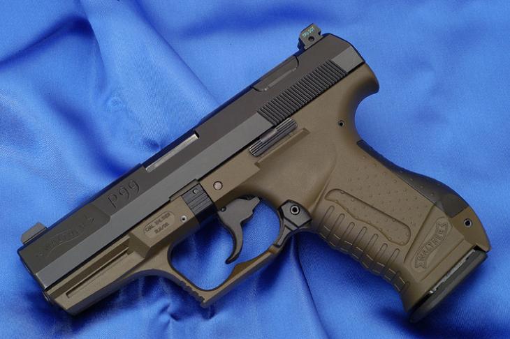 Конструкция пистолета «Walther» P 99