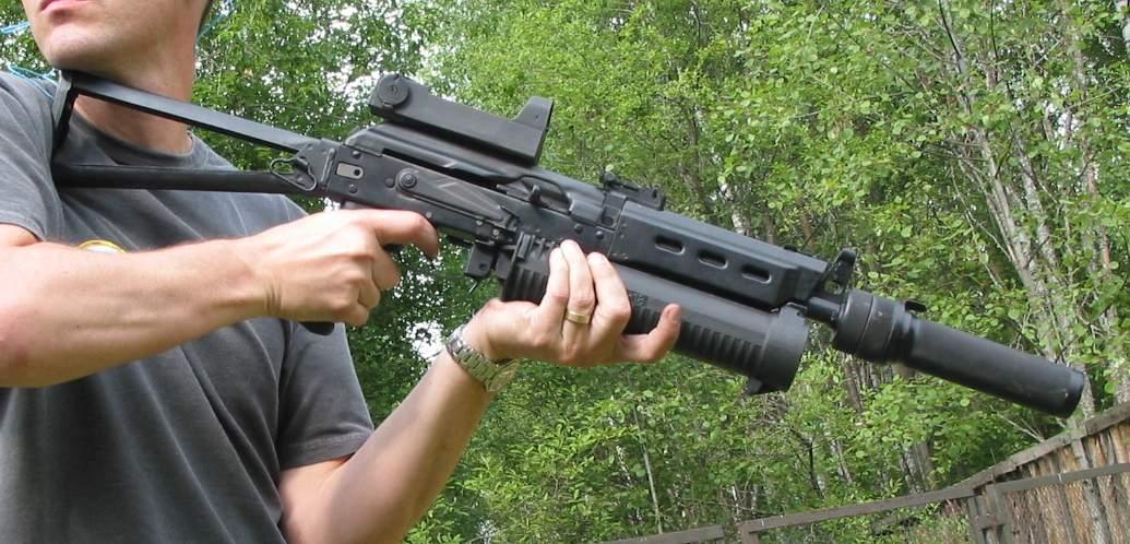 Пистолет-пулемет ПП-19 «Бизон»