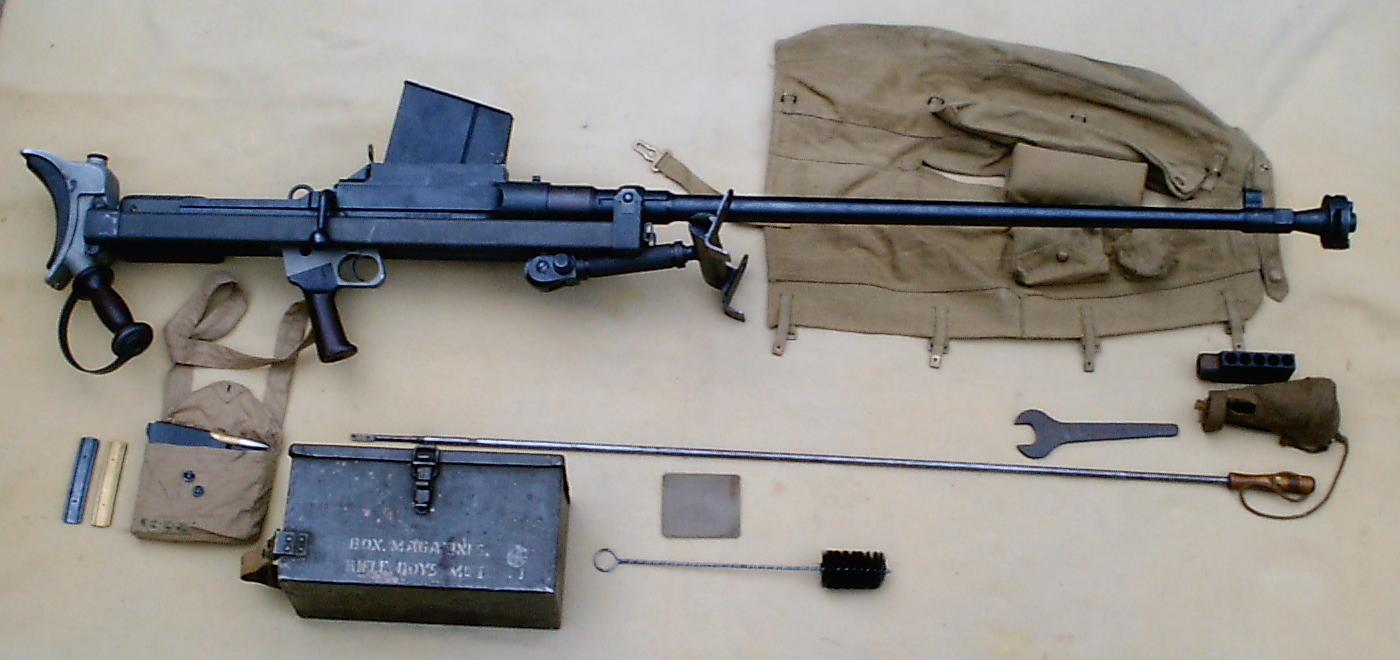 Противотанковая винтовка «Boys» (Великобритания)