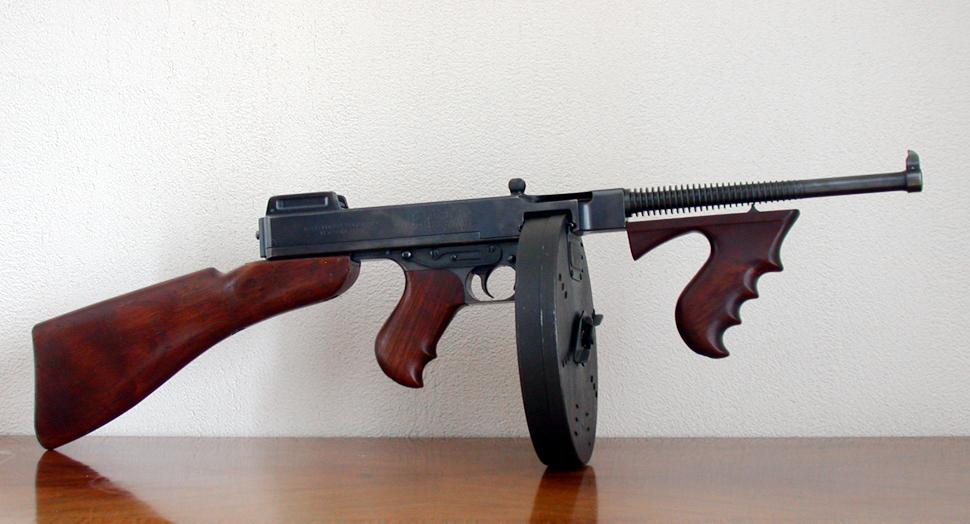 Пистолеты-пулеметы «Tompson»