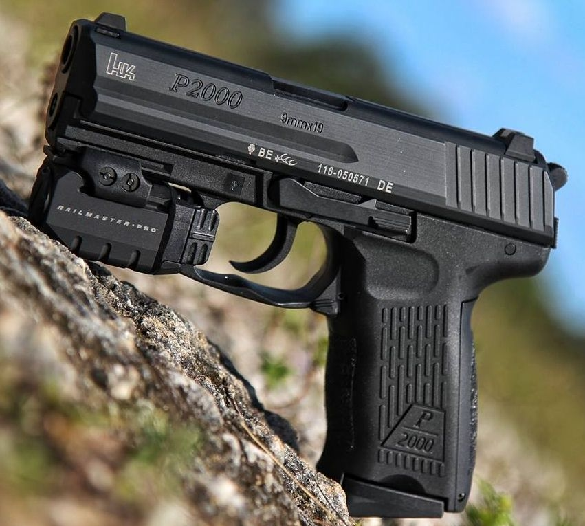 Конструкция пистолета «Heckler & Koch» P 2000