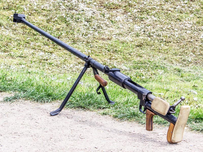Противотанковая винтовка Дегтярева ПТРД-41