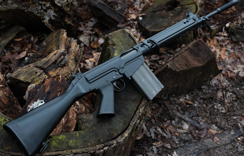 Автоматические винтовки FN FAL, FN CAL и FNC