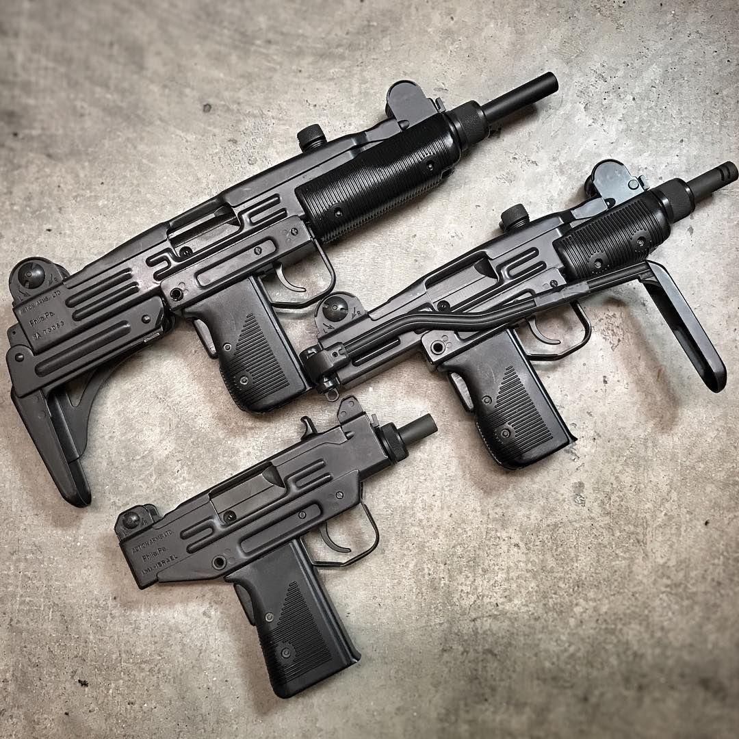 Пистолеты-пулеметы «Uzi», «Mini Uzi» и «Micro Uzi»