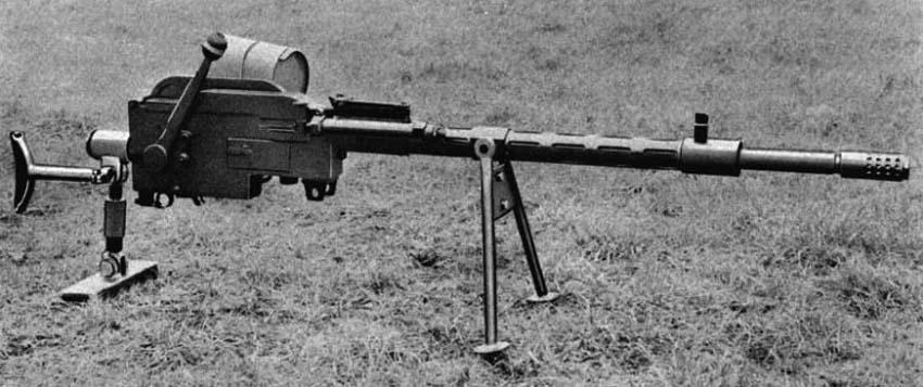 Противотанковая винтовка «Madsen» (Дания)