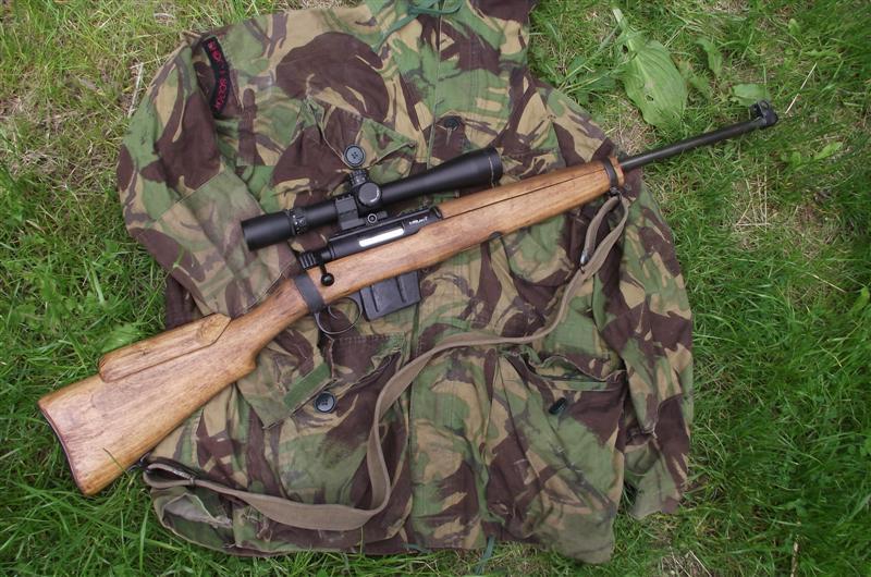 Снайперские винтовки «Enfield» L42 и «Parker Hale»