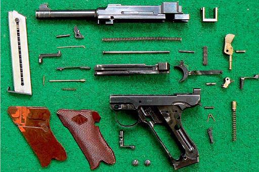 Конструкция пистолета «Lahti» VKT-L 35