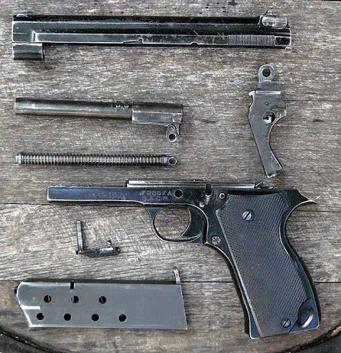 Конструкция пистолета MAS М 1935