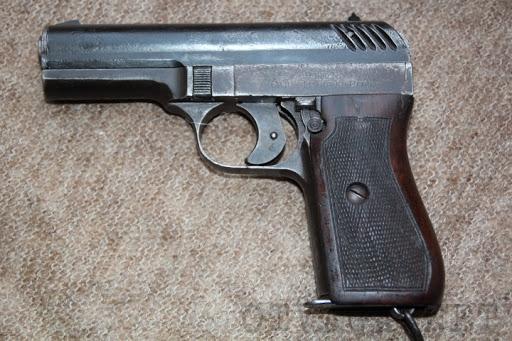 Конструкция пистолетов CZ 22 и CZ 24