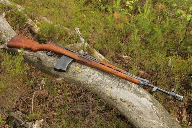 Автоматическая винтовка Симонова АВС-36 (СССР)